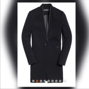 Superdry Scuba Luxe Longline blazer jacket
